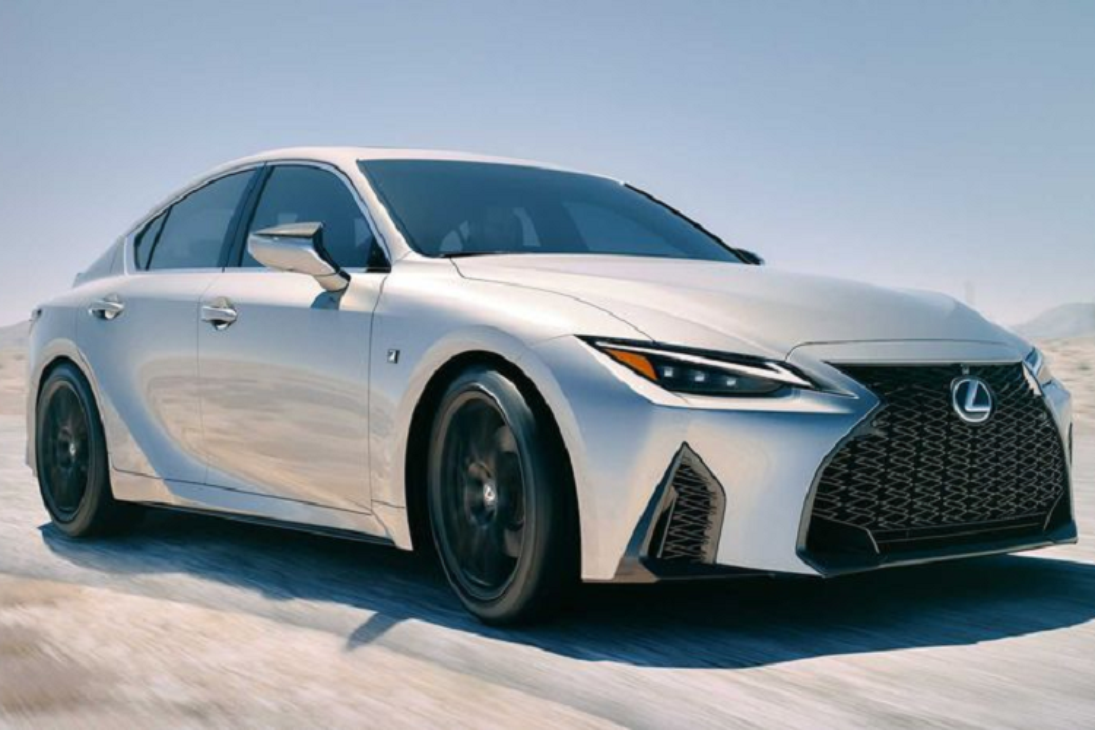 Ra mat Lexus IS 2021 moi canh tranh BMW 3 Series
