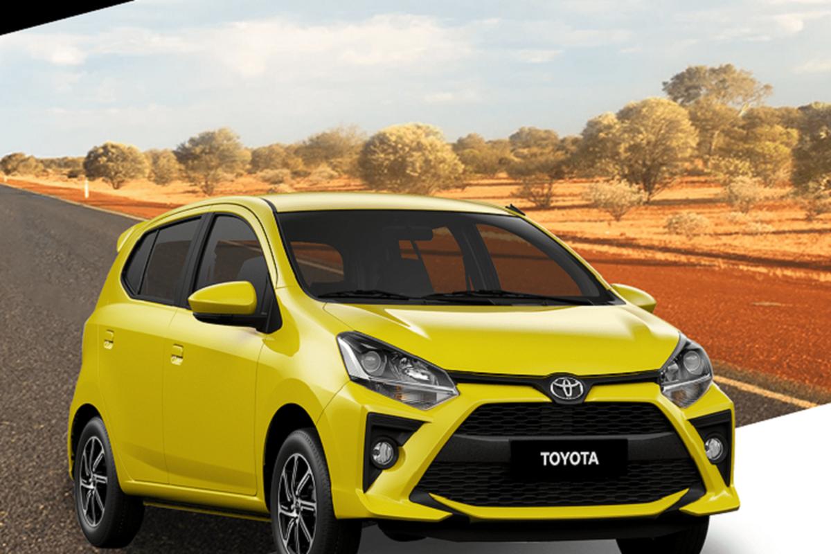 Toyota Wigo 2021 moi tu 260 trieu dong tai Philippines