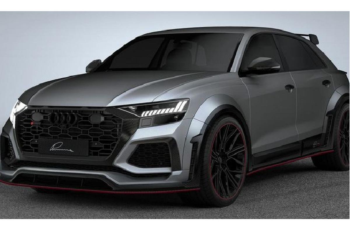 """Lumma Design """"xuat chieu"""" giup Audi RS Q8 tang 700 ma luc"""