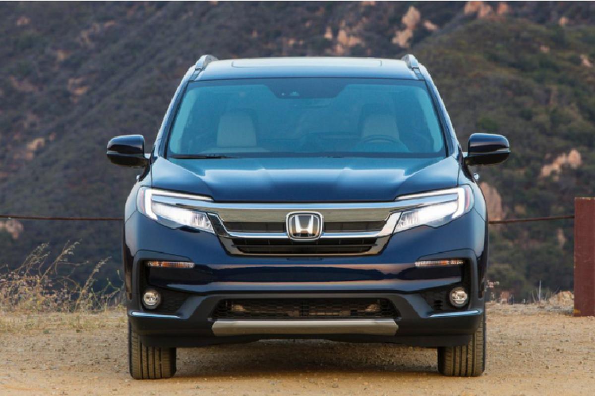 Honda Pilot 2021 trang bi hop so 9 cap,