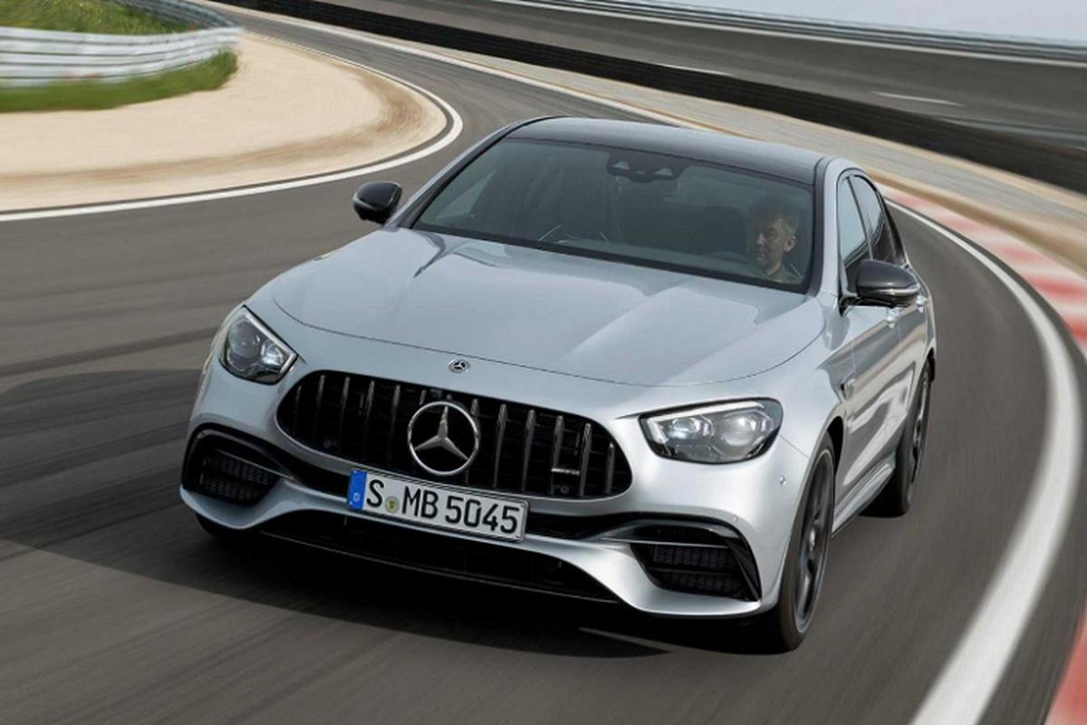 Ngam sieu xe Mercedes-AMG E63 S 2021 khoang 2,5 ty dong?