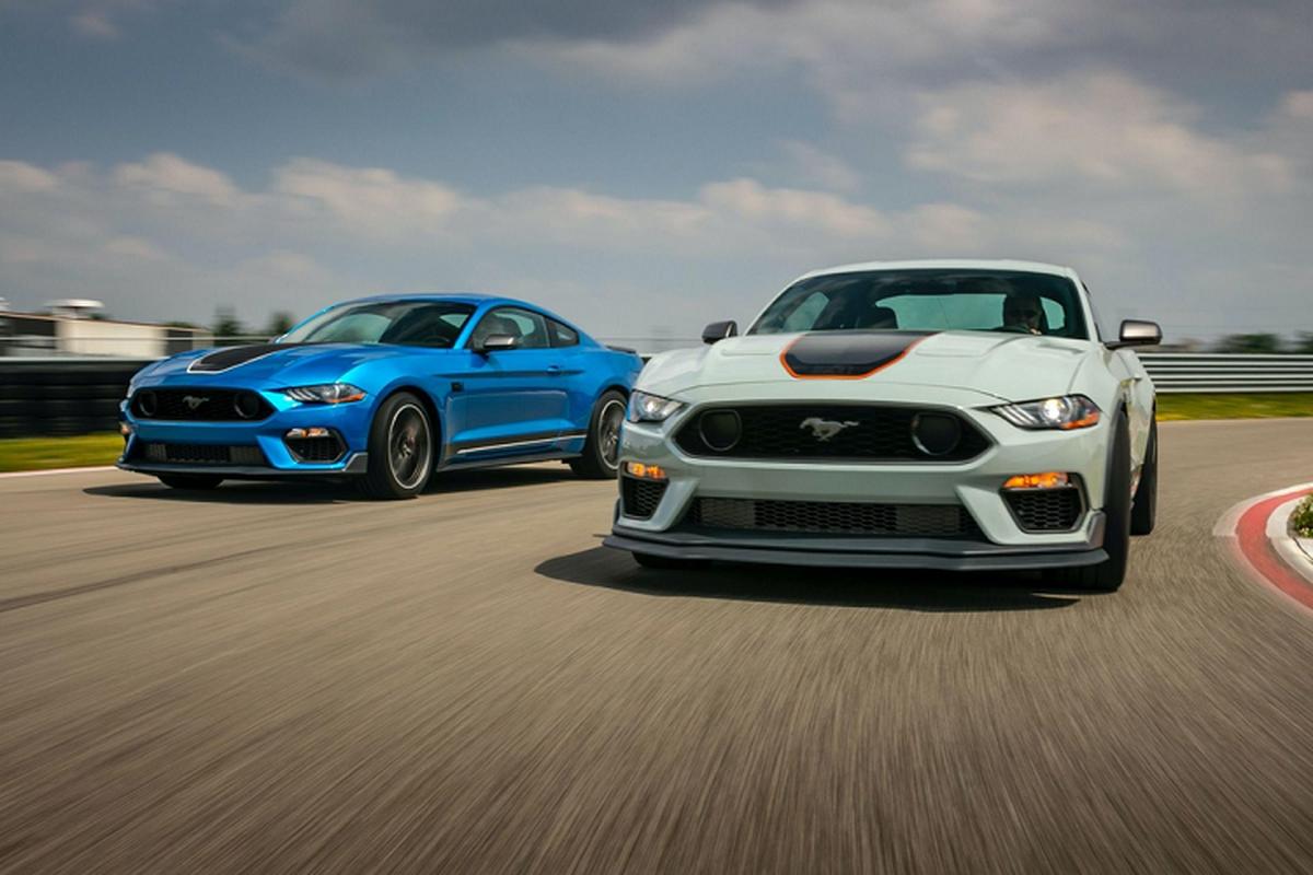 Ford Mustang Mach 1 - huyen thoai sanh vai James Bond tai xuat-Hinh-2