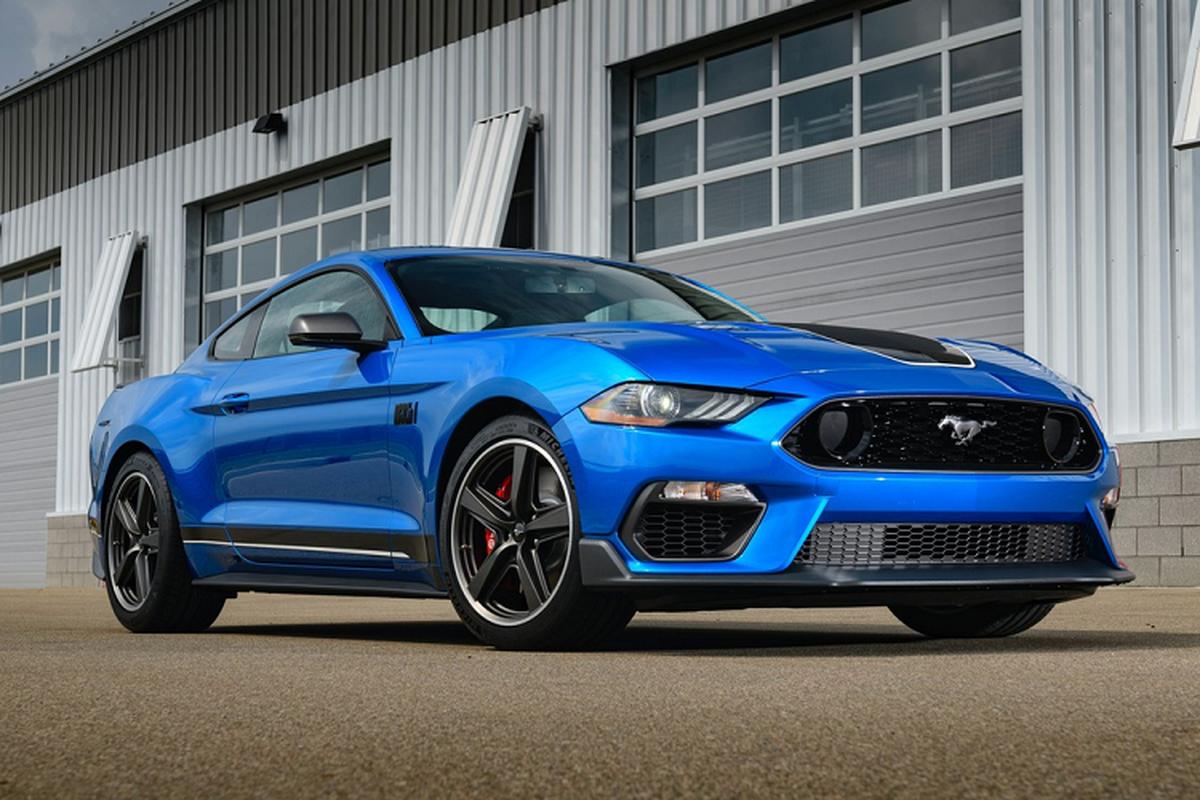 Ford Mustang Mach 1 - huyen thoai sanh vai James Bond tai xuat-Hinh-4