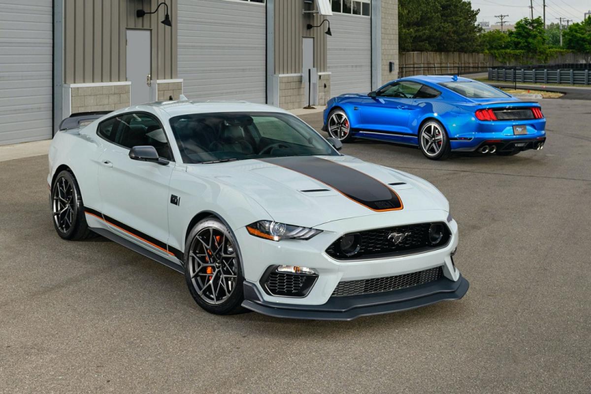 Ford Mustang Mach 1 - huyen thoai sanh vai James Bond tai xuat-Hinh-9