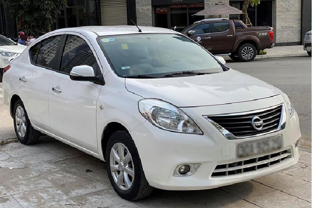 Xe cu Nissan Sunny re nhat phan khuc B tai Viet Nam