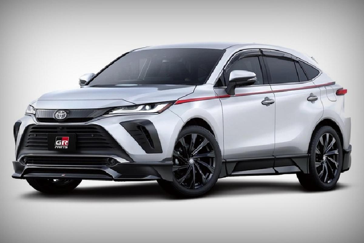 Toyota Venza 2021 voi goi nang cap GR tu 186 trieu dong