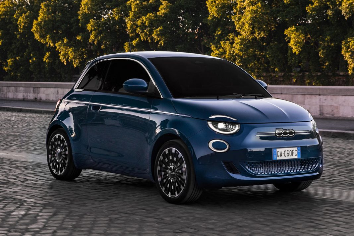 Fiat 500 2020 phien ban chay dien tu 34.160 USD