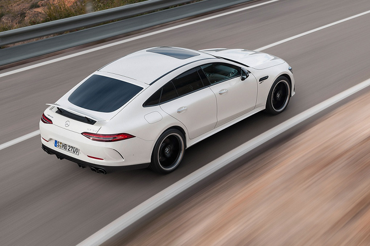 Mercedes-AMG GT 43 Coupe 4 cua -