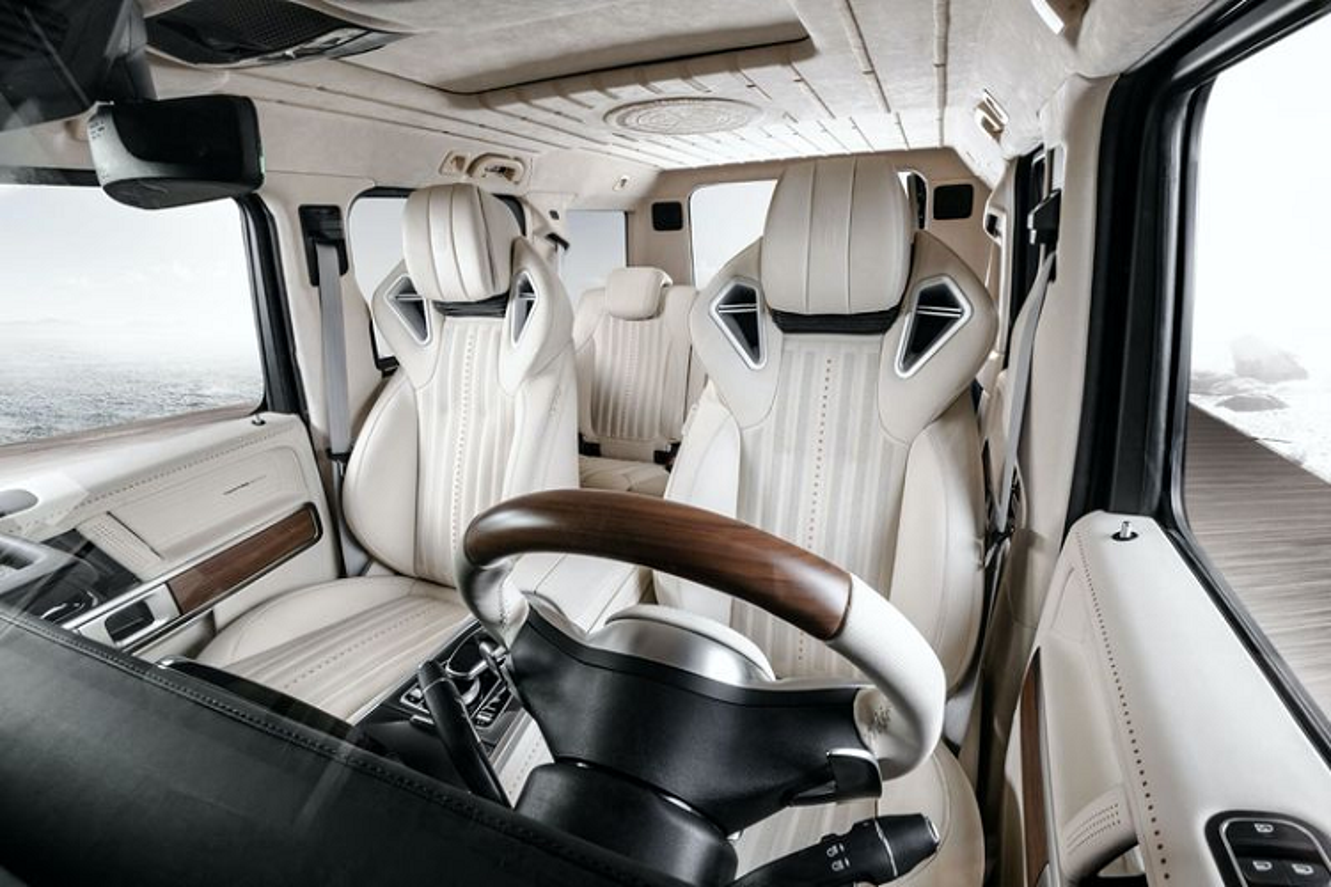 "Ngam ""du thuyen tren can"" Mercedes-AMG G63 Yachting Edition-Hinh-2"