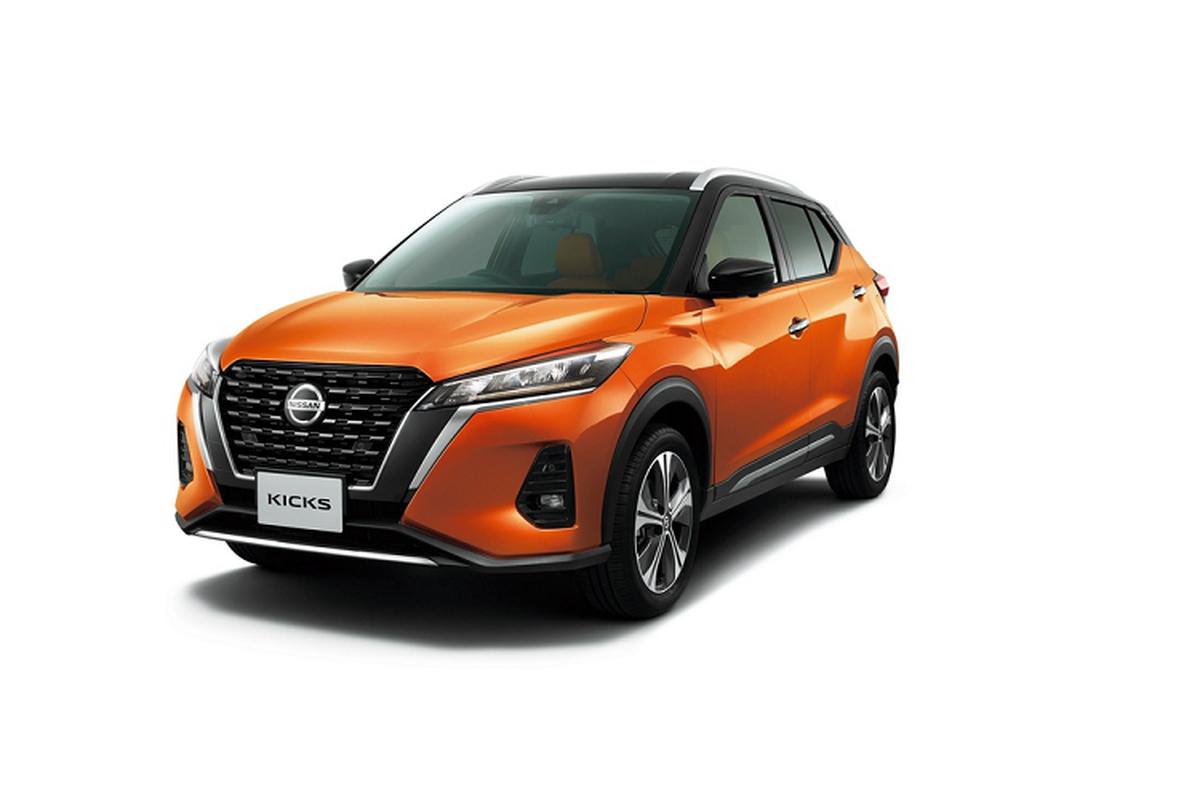 Nissan Kicks 2021 moi tu 24.845 USD tai Nhat Ban