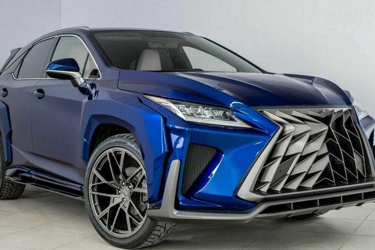 "Ngam Lexus RX va NX ""hoang dai"" duoi tay dan choi Nga-Hinh-2"