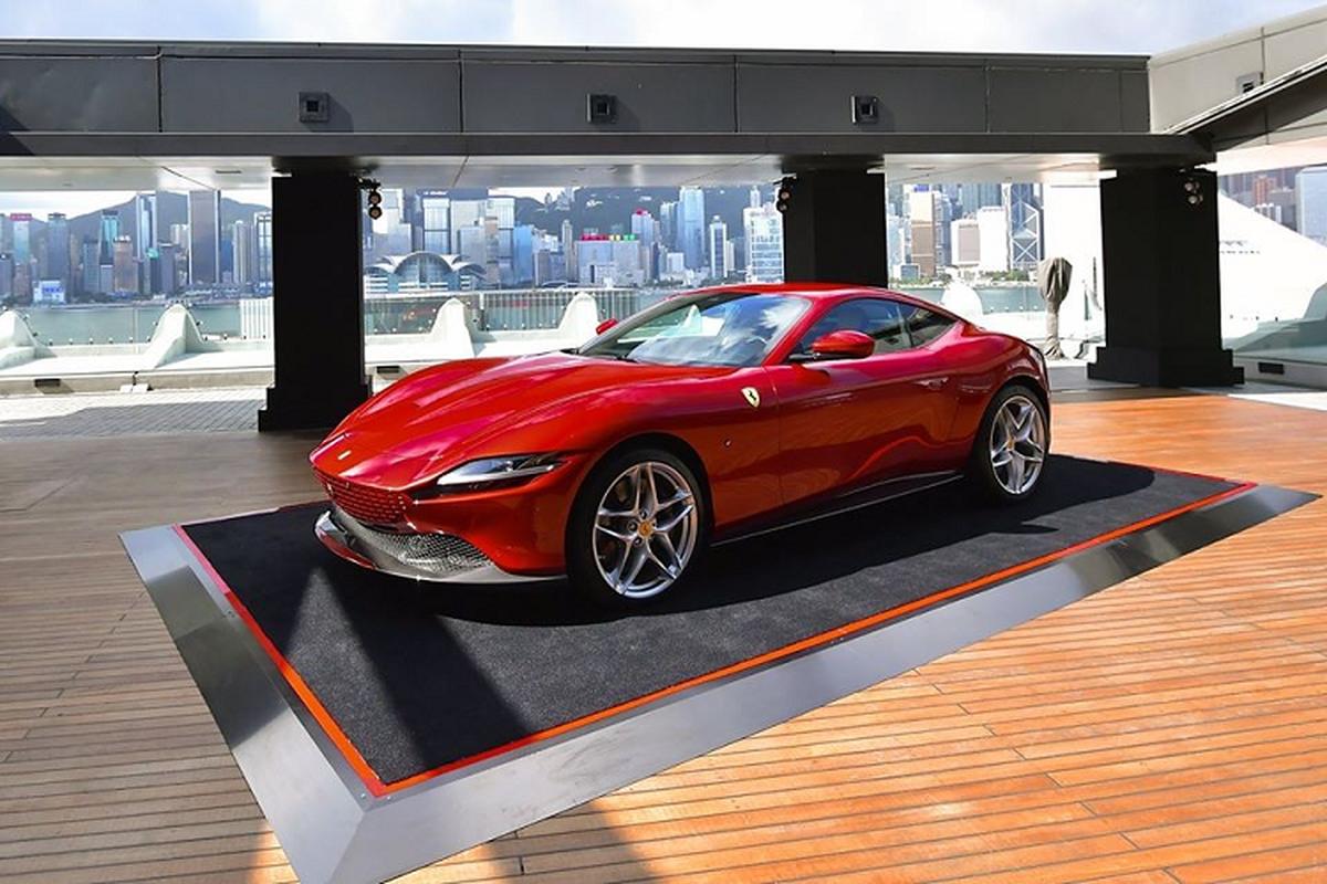 Sieu xe Ferrari Roma moi ban ra tu 9 ty dong tai Hong Kong-Hinh-3