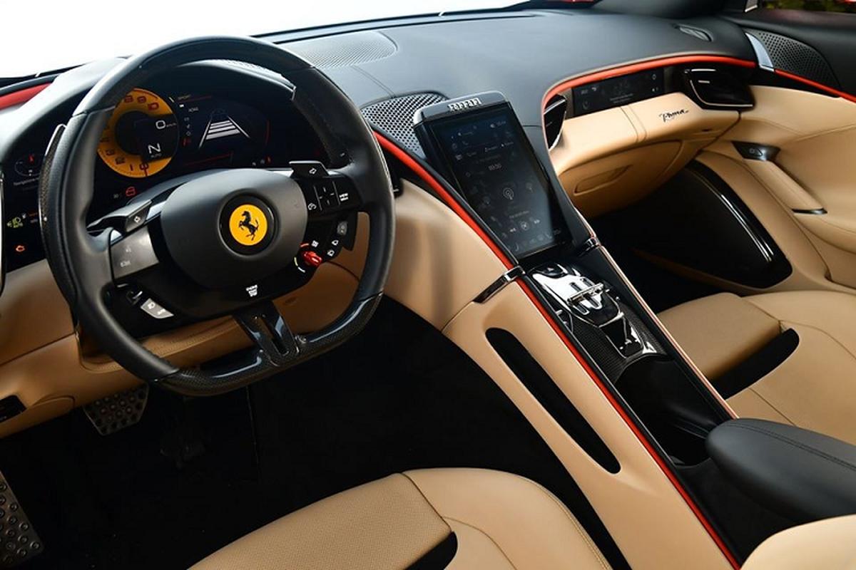Sieu xe Ferrari Roma moi ban ra tu 9 ty dong tai Hong Kong-Hinh-8