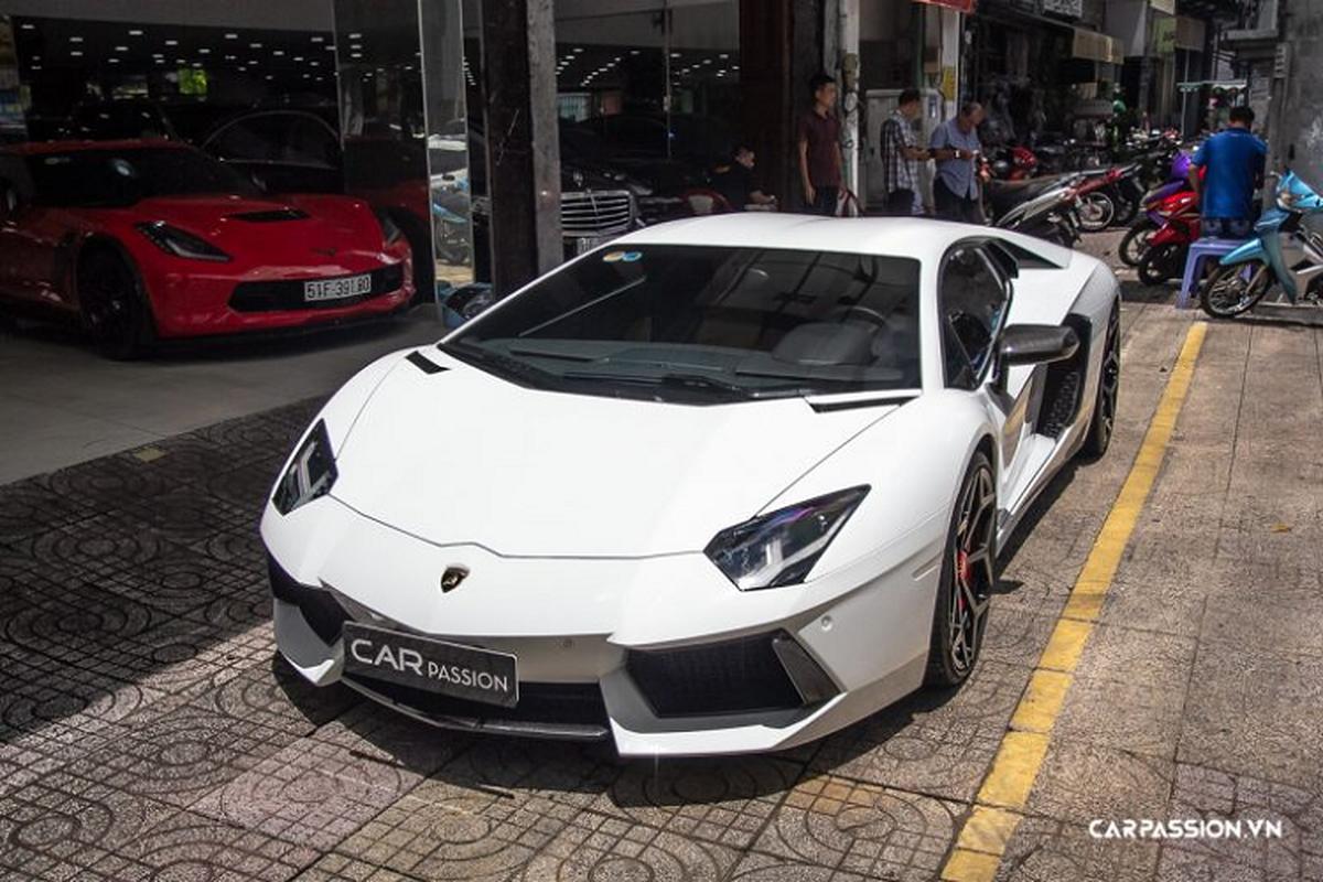 Lamborghini Aventador hon 20 ty, chinh hang doc nhat Viet Nam