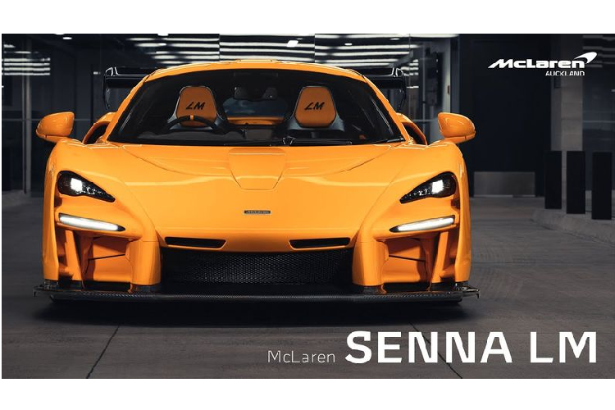 Soi ki sieu pham the gioi - McLaren Senna LM duy nhat o Uc
