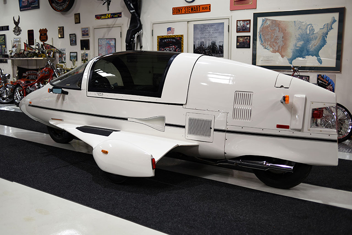 """Ngam """"tau bay"""" Pulse Autocycle 1988 su dung dong co Honda Goldwing-Hinh-7"""