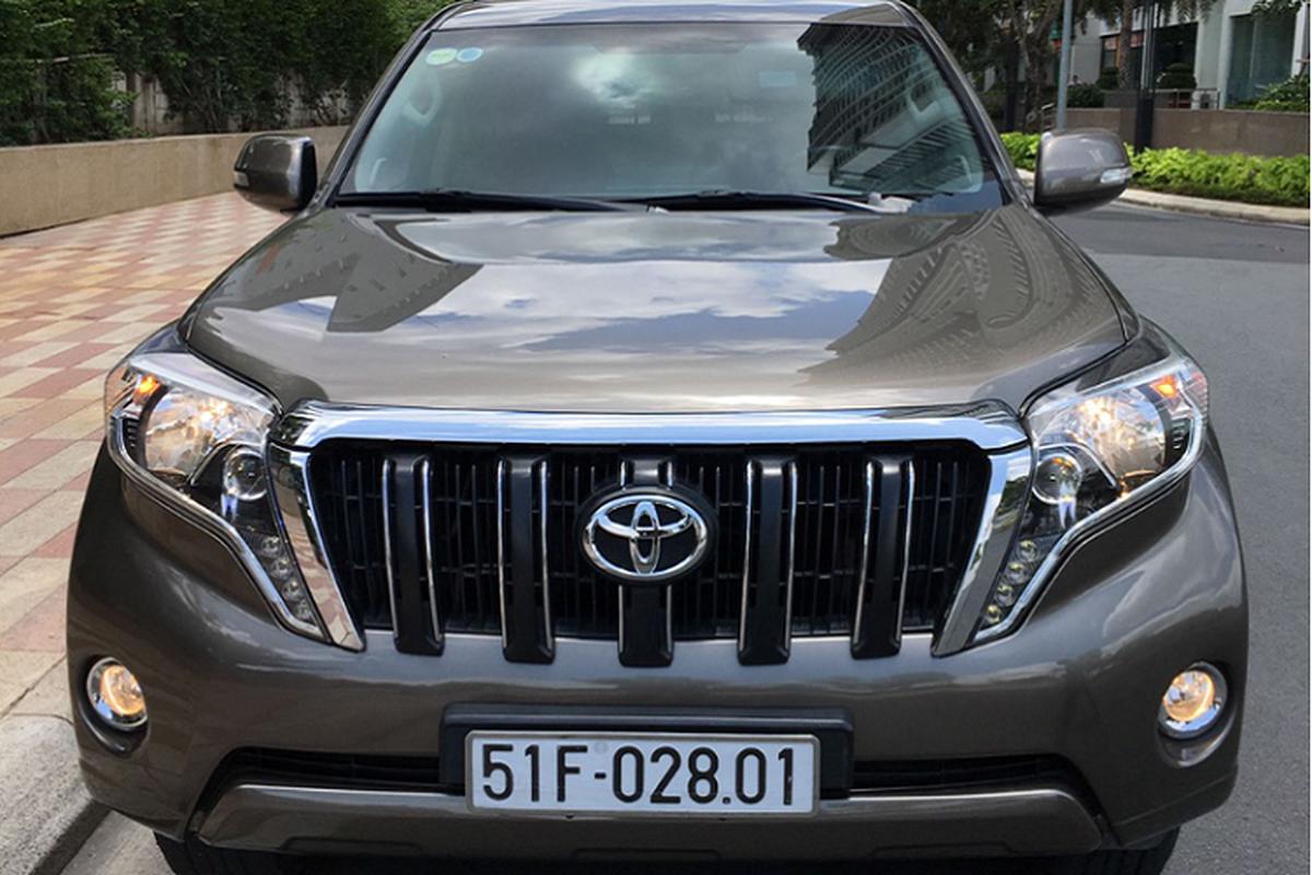 Toyota Prado lan banh 100.000km