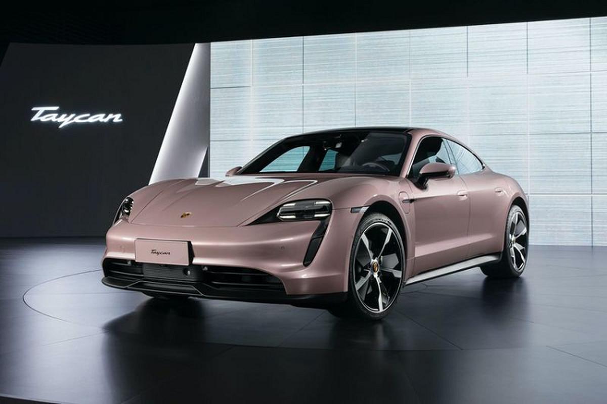 Ra mat Porsche Taycan RWD tu 2,9 ty dong tai Trung Quoc