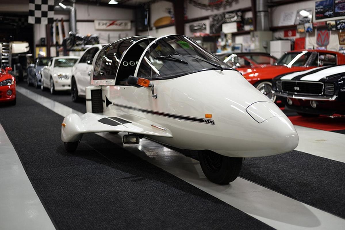 """Ngam """"tau bay"""" Pulse Autocycle 1988 su dung dong co Honda Goldwing-Hinh-2"""