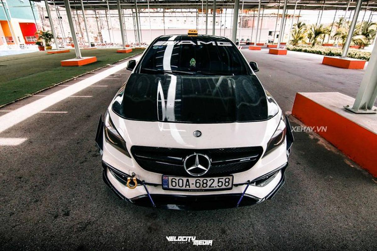 """Mercedes-AMG CLA 45 do phong cach """"Taxi"""" cuc doc tai Viet Nam-Hinh-2"""