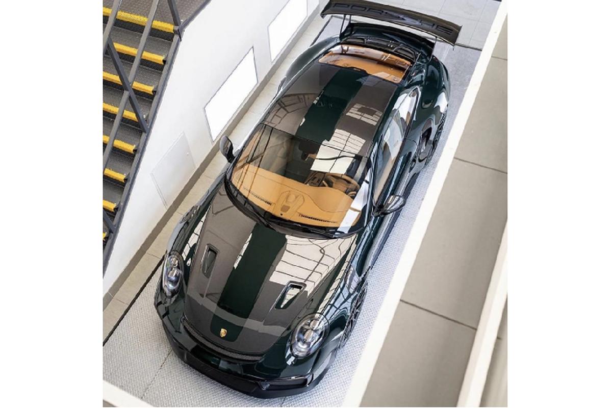 "Porsche 911 GT2 RS ""lot xac"" hoan toan boi Topaz Detailling-Hinh-2"