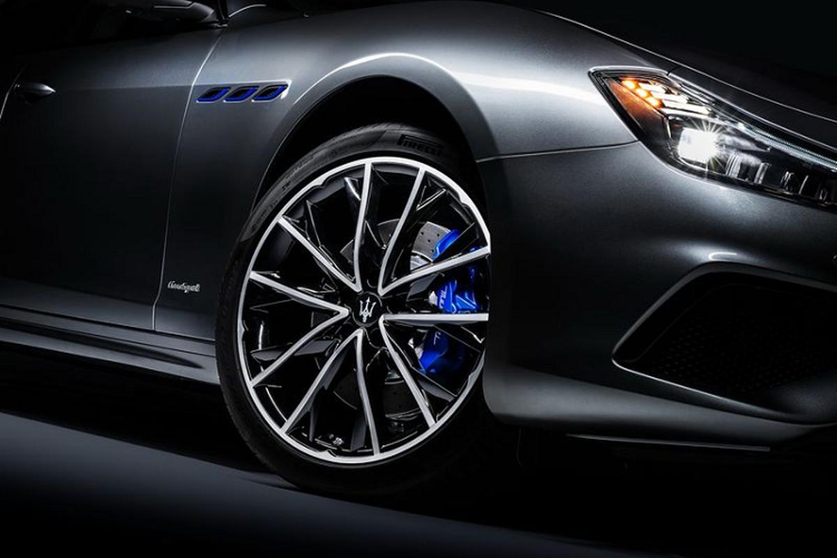 Maserati Ghibli Hybrid moi nang cap ngoai that, manh 330 ma luc-Hinh-4