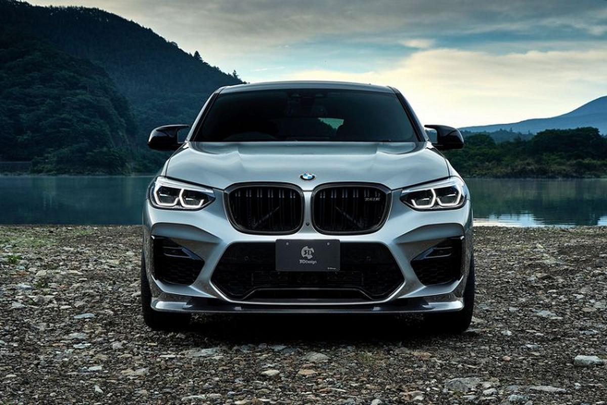 BMW X4 M ham ho hon nho soi carbon cua 3D Design-Hinh-3