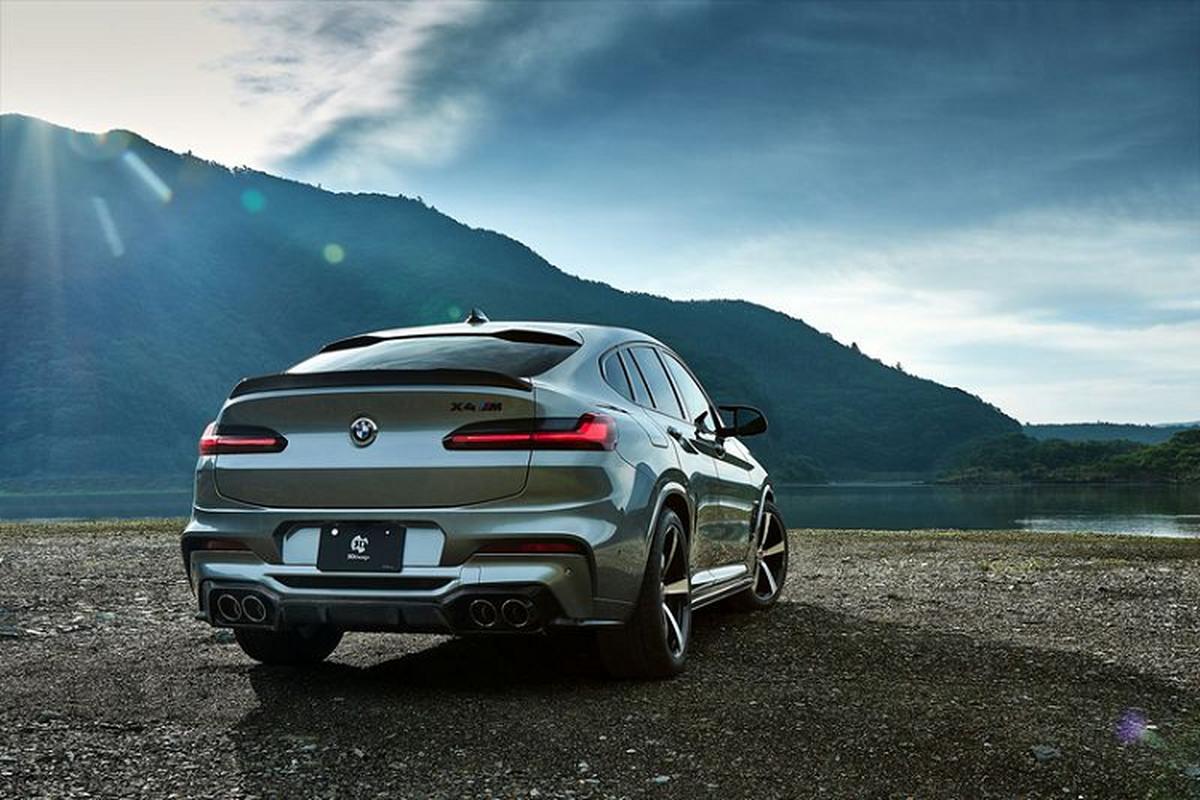 BMW X4 M ham ho hon nho soi carbon cua 3D Design-Hinh-4