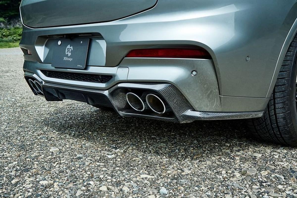 BMW X4 M ham ho hon nho soi carbon cua 3D Design-Hinh-5