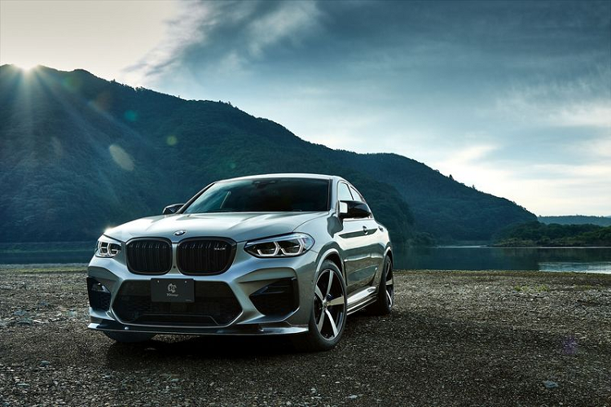 BMW X4 M ham ho hon nho soi carbon cua 3D Design