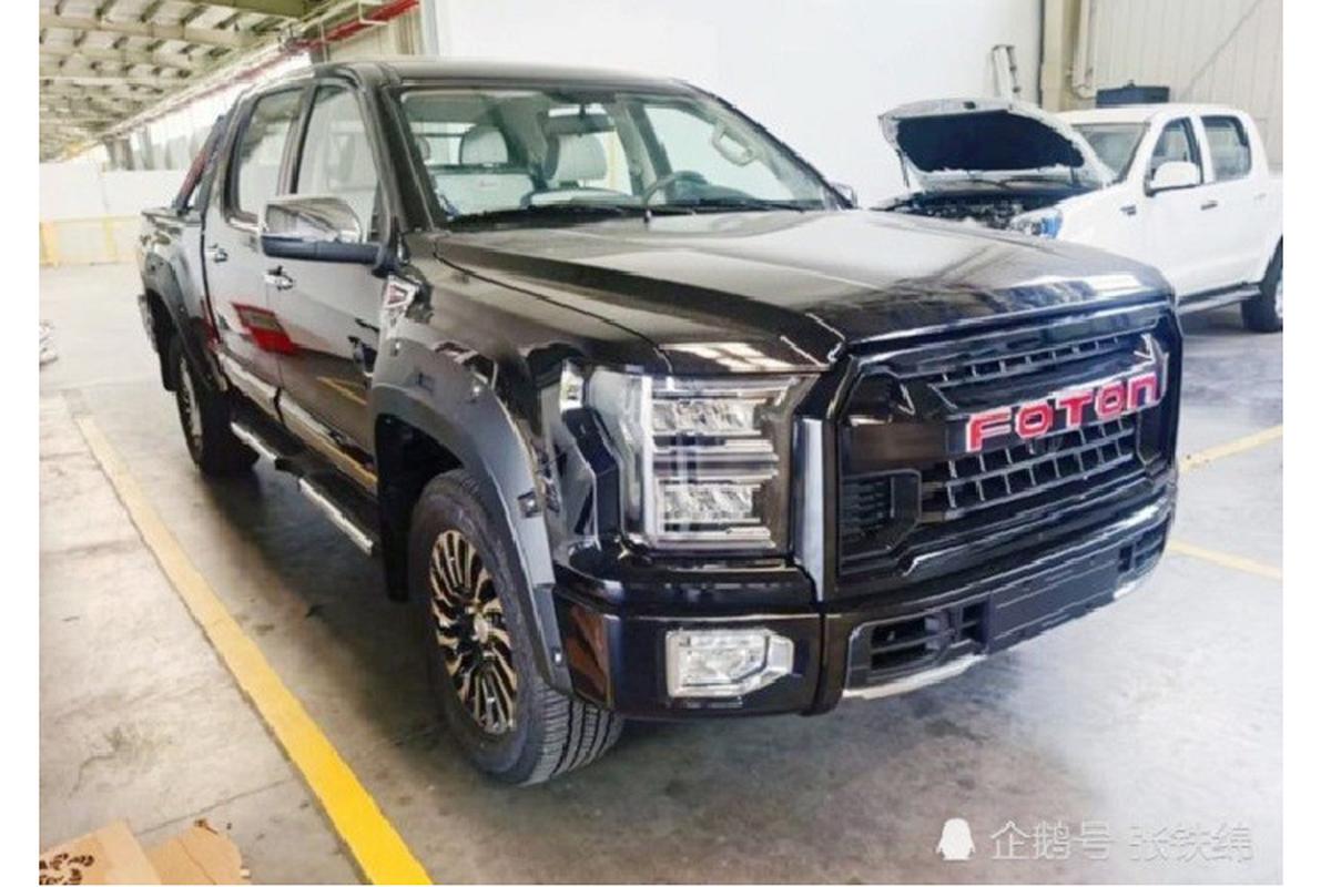 """Ban tai Foton Da Jiang Jun gia re, """"nhai"""" Ford F-150 Raptor"""