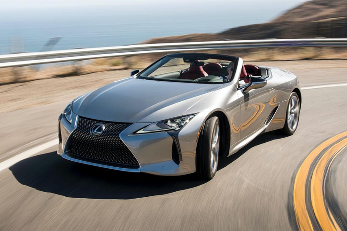 Lexus LC 500 Convertible 2021 se ban ra tu hon 2,3 ty dong-Hinh-2