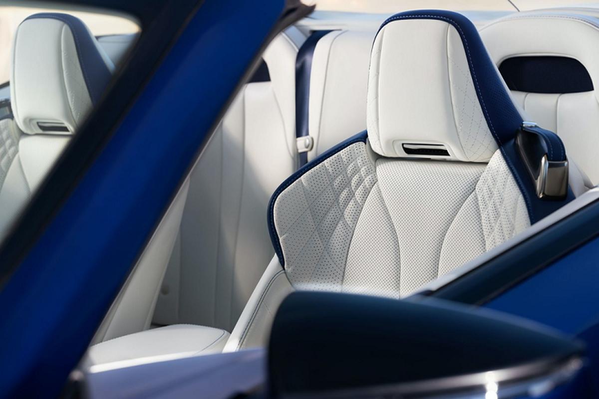 Lexus LC 500 Convertible 2021 se ban ra tu hon 2,3 ty dong-Hinh-7