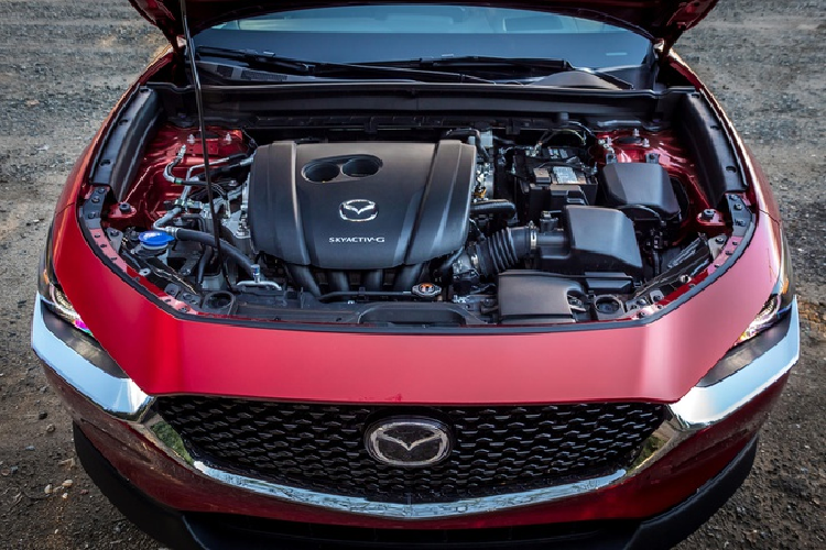 Mazda CX-30 2.5 S 2021 gay that vong vi dung dong co cu
