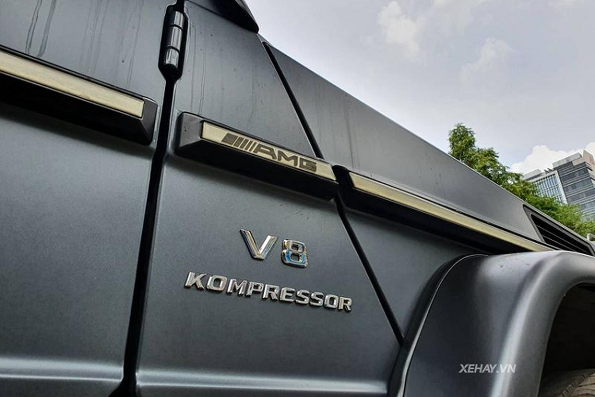 Cham mat Mercedes-AMG G55