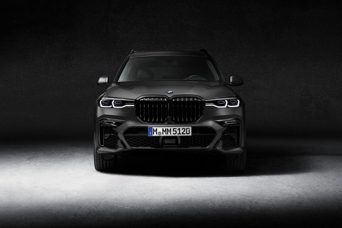 BMW X7 2021 phien ban bong dem tu 2,78 ty dong