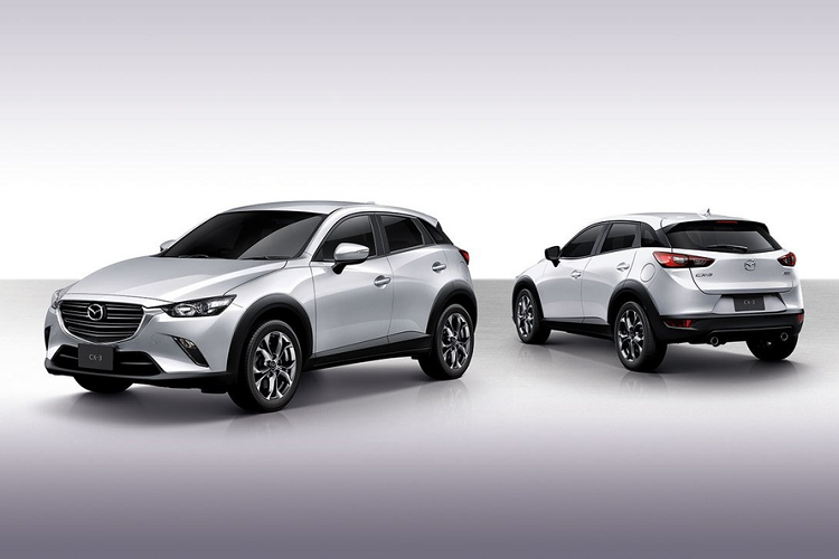 Mazda CX-3 ban nang cap tai Thai Lan tu 563 trieu dong