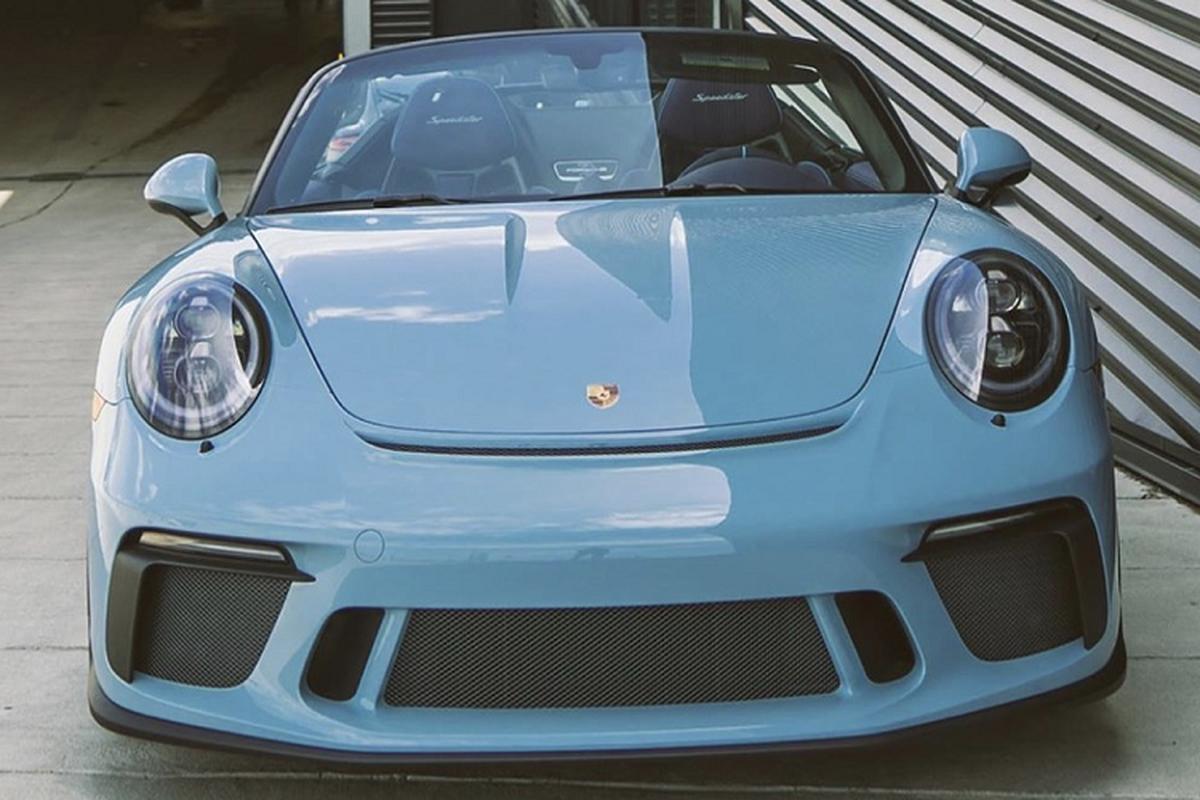 Sieu xe Porsche 911 Speedster