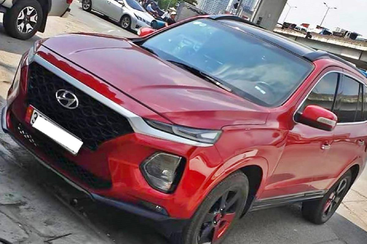 Hyundai SantaFe chay 12 nam len doi 2019 moi o Ha Noi