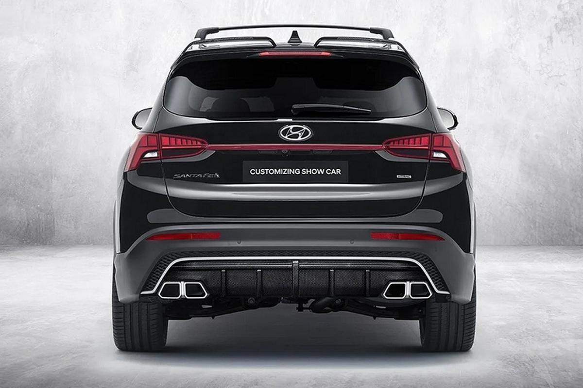 Hyundai SantaFe 2021 ham ho hon voi goi do N-Performance-Hinh-5