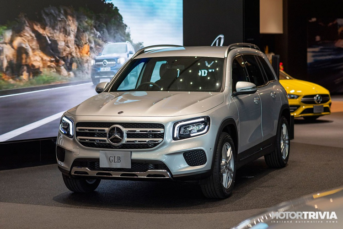 Mercedes-Benz GLB tu 2,1 ty dong tai Thai, sap ve Viet Nam