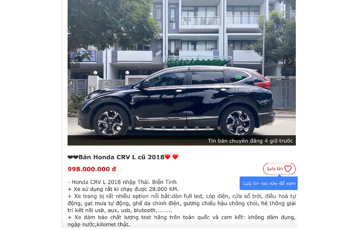 Honda CR-V co phai dong xe CUV giu gia nhat Viet Nam?-Hinh-3