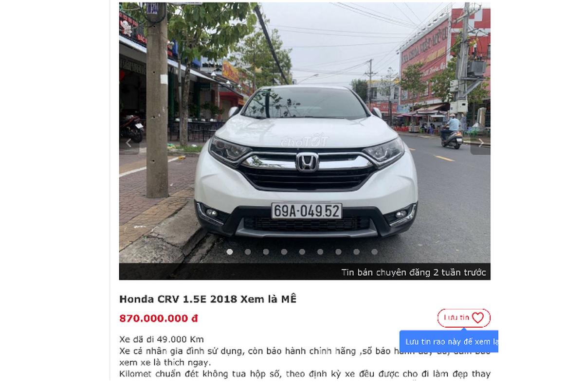 Honda CR-V co phai dong xe CUV giu gia nhat Viet Nam?-Hinh-5
