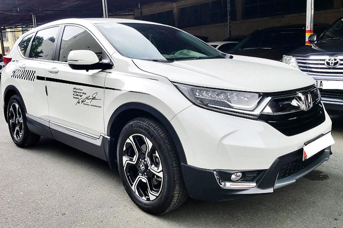 Honda CR-V co phai dong xe CUV giu gia nhat Viet Nam?