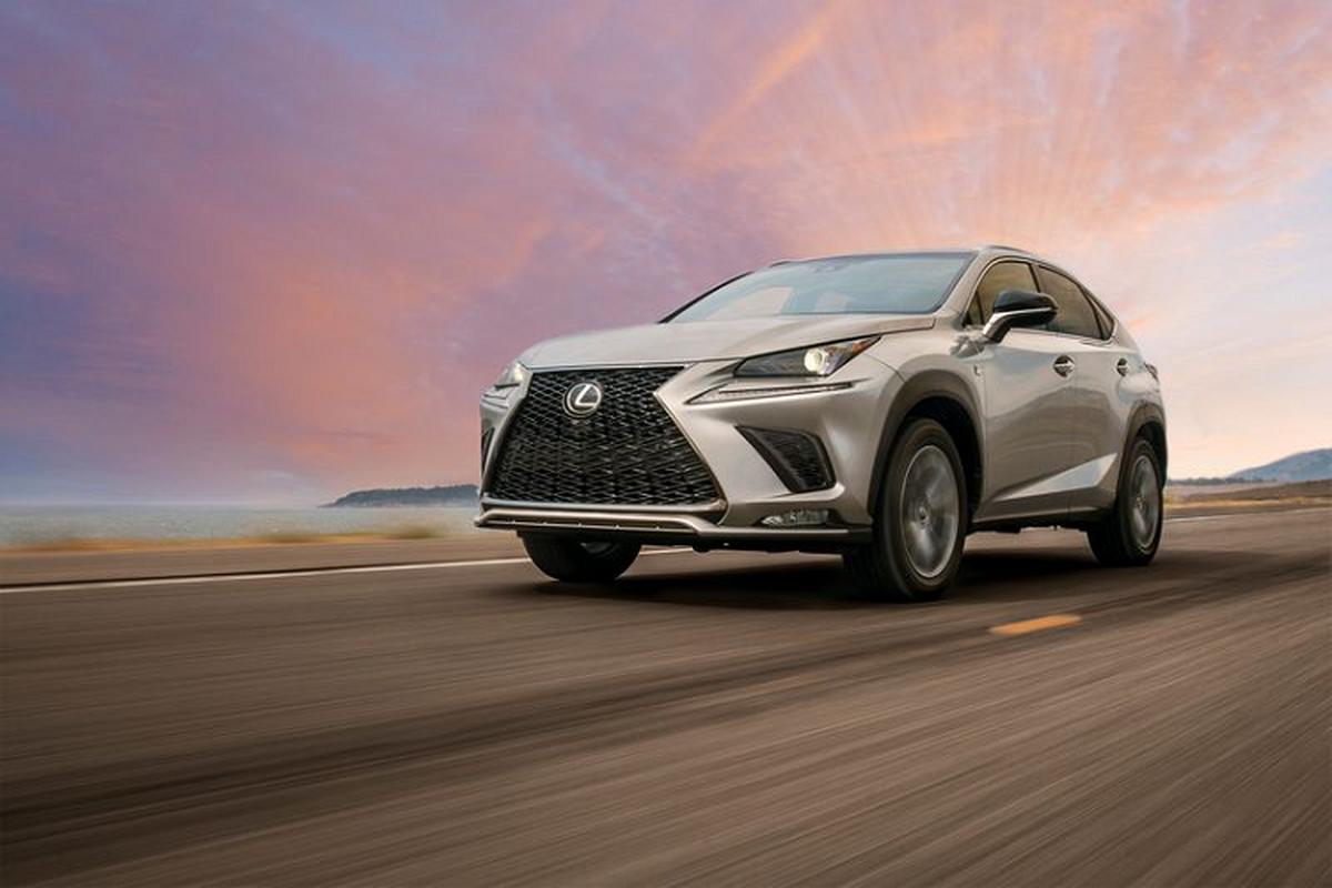 Lexus NX 2021 tang gia tri nho nhieu trang bi bo sung