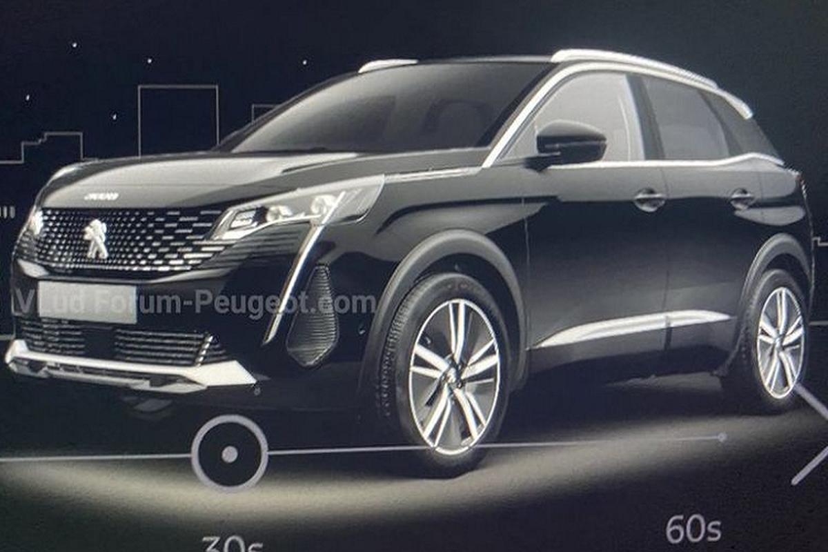 Ro ri dien mao chinh thuc cua Peugeot 3008 2021 moi