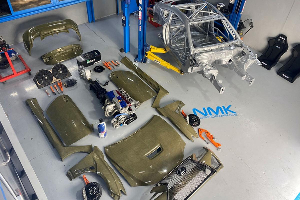 Lexus RC F Carbon Kelvar, sieu nhe manh 1.200 ma luc-Hinh-4
