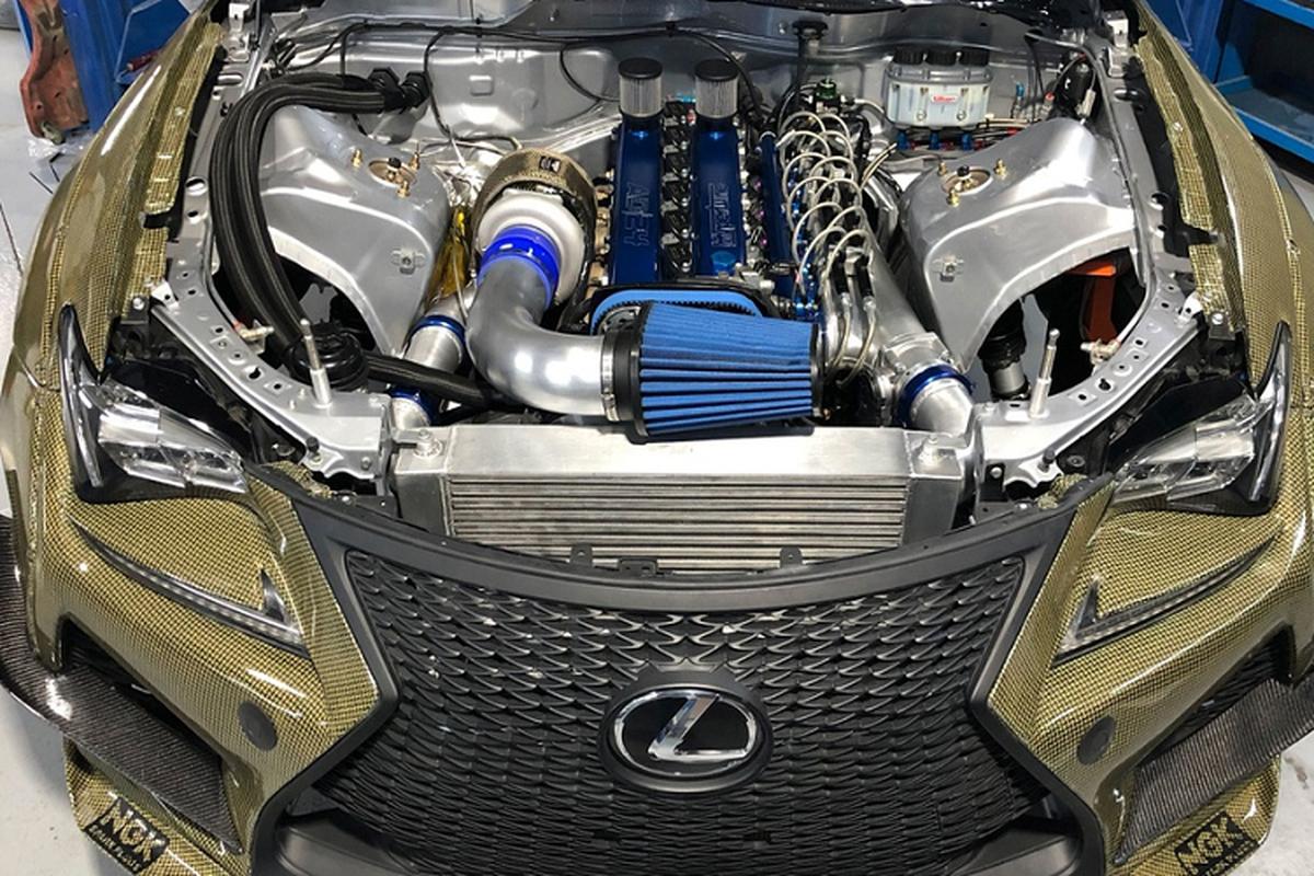 Lexus RC F Carbon Kelvar, sieu nhe manh 1.200 ma luc-Hinh-5