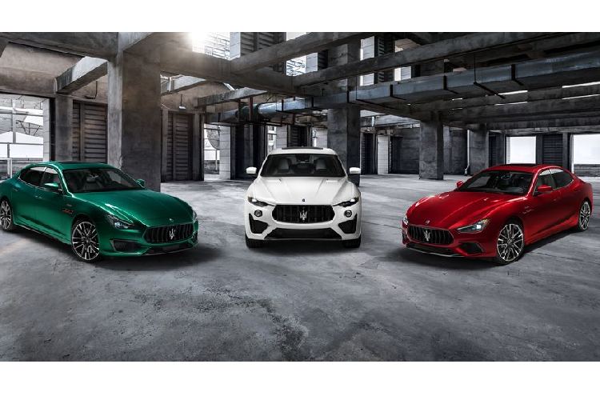 Ghibli va Quattroporte phien ban Trofeo manh nhat nha Maserati