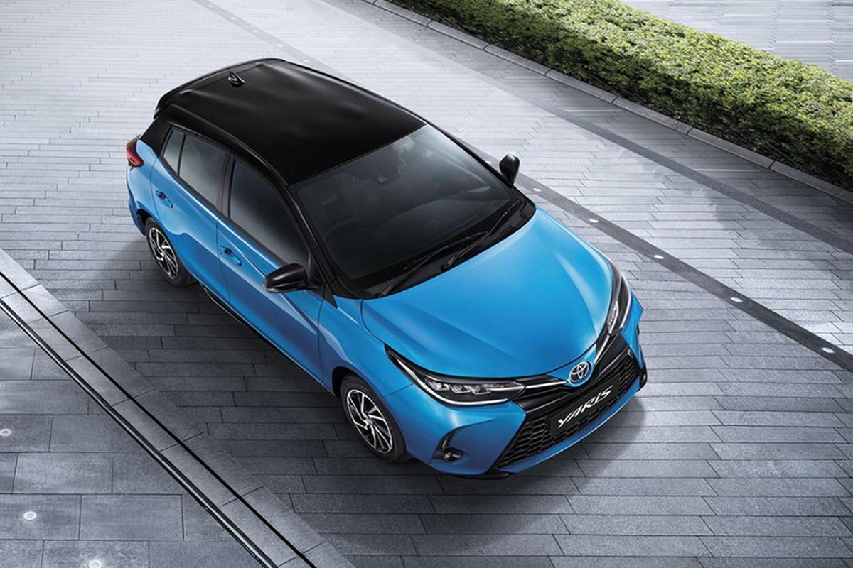 Toyota Yaris 2021 tu 400 trieu dong tai Thai, sap ve Viet Nam?
